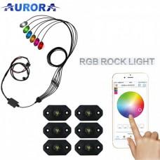 Светодиодные фары Aurora ALO-Y-2-RGB-D6